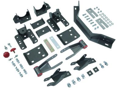 "2014-2018 Chevy Silverado 1500 (Long Wheel Base) 3-4"" Adj. Rear Flip Kit W/ Shock Extenders And Carrier Bearing - MaxTrac 201540LB"