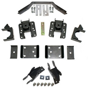 "2014-2018 Chevy Silverado 1500 (Long Wheel Base) 5-6"" Adj. Rear Flip Kit W/ Shock Extenders And Carrier Bearing - MaxTrac 201560LB"