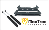 2014-2018 Chevy Silverado 1500 4WD W/ Stamped Steel And Aluminum Suspension Subframes And Rear Shocks - MaxTrac 941370-2