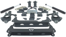 "2014-2018 Chevy Silverado 1500 4wd W/ Stamped Steel And Aluminum Suspension 7/5"" Lift Kit W/ MaxTrac Shocks - MaxTrac K941570A"
