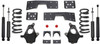 "1999-2006 Chevy Silverado 1500 2wd (V8) 4/6"" Lowering Kit - MaxTrac K330946-8"