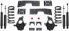 "1999-2006 GMC Sierra 1500 2wd (V8) 4/6"" Lowering Kit - MaxTrac K330946-8"