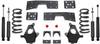 "1999-2006 GMC Sierra 1500 2wd (V6) 4/6"" Lowering Kit - MaxTrac K330946-6"