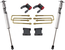 """2007-2018 GMC Sierra 1500 2wd 4"""" Rear Lift Kit W/ FOX Shocks - MaxTrac 901355F"""