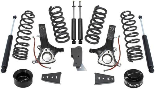 """2014-2018 Dodge RAM 1500 2wd Eco Diesel 6.5""""/4.5"""" Lift Kit W/ Shocks - MaxTrac K882464"""