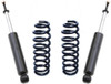 """2014-2018 Dodge RAM 1500 2wd Eco Diesel 2.0"""" Front Lift Coils & Front MaxTrac Shocks - MaxTrac 872172"""