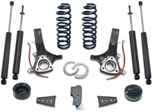 "2009-2018 Dodge RAM 1500 2wd V6 Gas 6.5""/4.5"" Lift Kit W/ Shocks - MaxTrac K882465"