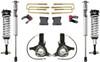 "2007-2018 Chevy Silverado 1500 2wd W/ Cast Steel Suspension 7""/4"" Lift Kit W/ Fox Shocks - MaxTrac K881375F"