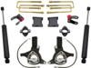 """2007-2018 GMC Sierra 1500 2wd W/ Cast Steel Suspension 7.5""""/4"""" Lift Kit W/ MaxTrac Shocks - MaxTrac K881375"""