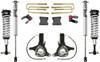 """2007-2018 GMC Sierra 1500 2wd W/ Cast Steel Suspension 7""""/4"""" Lift Kit W/ Fox Shocks - MaxTrac K881375F"""