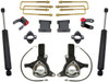 "2016-2018 Chevy Silverado 1500 2wd W/ Stamped Steel And Aluminum Suspension 7""/4"" Lift Kit W/ MaxTrac Shocks - MaxTrac K881575"