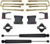 """2007-2018 GMC Sierra 1500 2wd 2"""" Front 4"""" Rear Lift Kit W/ MaxTrac Shocks - MaxTrac 901555"""
