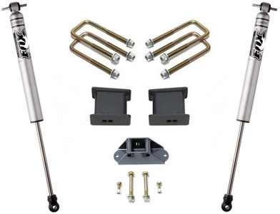 "2004-2019 Nissan Titan 2wd  4"" Rear Lift Kit W/ FOX Shocks - MaxTrac 905340F"