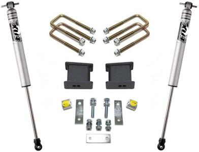 """2007-2021 Toyota Tundra 2wd 4"""" Rear Lift Kit W/ FOX Shocks - MaxTrac 906740F"""