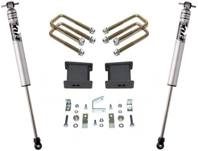 "2005-2020 Toyota Tacoma 2wd (6 lug) 4"" Rear Lift Kit W/ FOX Shocks - MaxTrac 906840F"
