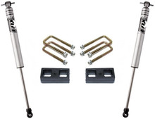 "2005-2021 Toyota Tacoma 2wd (6 lug) 2"" Lift Blocks And U-Bolts W/ Rear FOX Shocks - MaxTrac 906820F"
