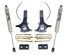 "2002-2008 Dodge RAM 1500 2wd 4.5""/2"" Lift Kit W/ FOX Shocks - MaxTrac K882145F"