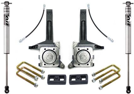 """2007-2020 Toyota Tundra 2wd 3.5""""/2"""" Lift Kit W/ FOX Shocks - MaxTrac K886732F"""