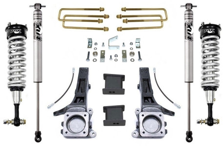 "2005-2020 Toyota Tacoma 2wd (6 lug) 6.5""/4"" Lift Kit W/ FOX Shocks - MaxTrac K886864F"