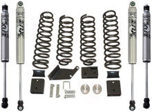 "2007-2018 Jeep Wrangler JK 2wd/4wd 3"" Lift Kit W/ FOX Shocks - MaxTrac K889730F"