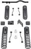 "2007-2018 Jeep Wrangler JK 2wd/4wd 4.5"" Coil Lift Kit W/ Front Track Bar (No Shocks) - MaxTrac K889745"