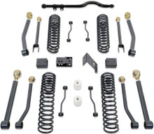 """2007-2016 Jeep Wrangler JK 2wd/4wd 4.5"""" Coil Lift Kit W/ Front Track Bar And Adjustable Arms (No Shocks) - MaxTrac K889745A"""