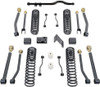 "2007-2018 Jeep Wrangler JK 2wd/4wd 4.5"" Coil Lift Kit W/ Front Track Bar And Adjustable Arms (No Shocks) - MaxTrac K889745A"
