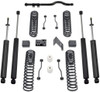 "2007-2018 Jeep Wrangler JK 2wd/4wd 4.5"" Coil Lift Kit W/ Front Track Bar And MaxTrac Shocks - MaxTrac K889745S"