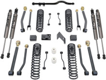 "2007-2016 Jeep Wrangler JK 2wd/4wd 4.5"" Coil Lift Kit W/ Front Track Bar, Adjustable Arms & FOX Shocks - MaxTrac K889745FA"