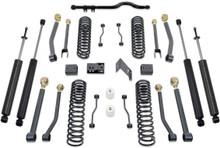 "2007-2016 Jeep Wrangler JK 2wd/4wd 4.5"" Coil Lift Kit W/ Front Track Bar, Adjustable Arms & MaxTrac Shocks - MaxTrac K889745SA"