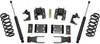 """2014-2018 GMC Sierra 1500 2wd/4wd (1pc Drive Shaft) Crew Cab 2/4"""" Lowering Kit - MaxTrac K331524-8"""