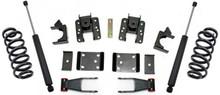 """2014-2018 GMC Sierra 1500 2wd/4wd (1 pc Drive Shaft) Single Cab 2/4"""" Lowering Kit - MaxTrac K331524-6"""