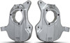 """2007-2013 GMC Sierra 1500 2wd 2"""" Lowering Spindles (Forged Aluminum) - MaxTrac 101320A"""
