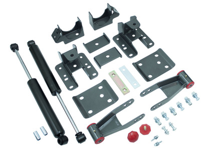 "2014-2018 Chevy Silverado 1500 2wd/4wd 3-4"" Adj. Rear Flip Kit W/ MaxTrac Shocks - MaxTrac 201340"
