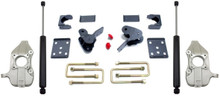 """2015-2021 Ford F-150 2wd 2/4"""" Lowering Kit W/ MaxTrac Shocks - MaxTrac K333224"""