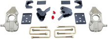 "2015-2019 Ford F-150 2wd 2/4"" Lowering Kit W/ No Shocks - MaxTrac K333224-NS"