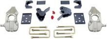 """2015-2021 Ford F-150 2wd 2/4"""" Lowering Kit W/ No Shocks - MaxTrac K333224-NS"""