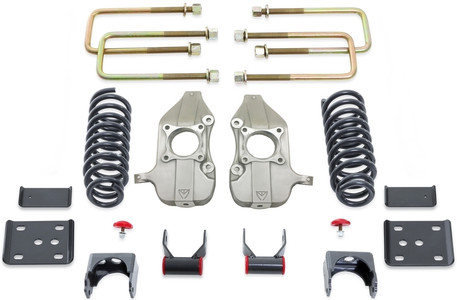 """2015-2021 Ford F-150 2wd 3/5"""" Lowering Kit W/ No Shocks - MaxTrac K333235-6-NS"""