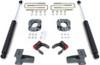 """2009-2014 Ford F-150 2wd W/ Factory Blocks 2.5""""/5"""" Lift Kit W/ Rear FOX Shocks - MaxTrac 903151"""