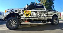"MaxTrac K883362-4L  Installed On 2017-2022 Ford F250/350 4wd 6"" Forged Four Link Lift Kit W/ MaxTrac Shocks"