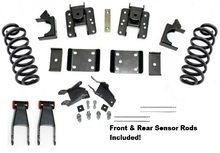 "2015-2019 GMC Sierra Denali 1500 4wd Premium 2/4""  or 2/5"" Drop Kit - 34150MR"