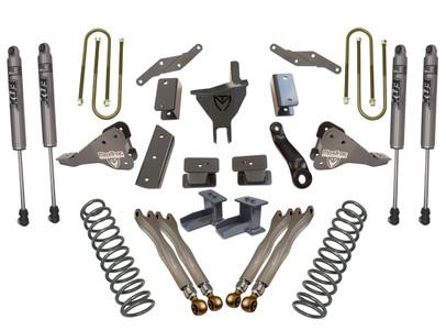 "2017-2021 Ford F250/350 4wd 6"" Forged Four Link Lift Kit W/ FOX Shocks - K943362FL"