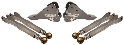2017-2021 Ford F250/350 Dually 4wd MaxTrac Front Forged Four Link Upgrade Kit - K853300-4