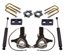 "2016-2018 Chevy & GMC 1500 2wd W/ Stamped Steel & Aluminum Arms 5/3"" MaxTrac Lift Kit W/ Shocks - K881753"