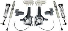 """2009-2013 Ford F-150 2wd W/O Factory Blocks 6.5/4"""" MaxTrac Lift Kit W/ FOX Shocks - K883464F"""