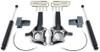 """2009-2014 Ford F-150 2wd (W/O Factory Lift Blocks) 4""""/2"""" MaxTrac Lift Kit W/ Shocks - K883442"""