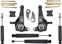 """2001-2009 Ford Ranger 2wd 5/3"""" MaxTrac Lift Kit W/ Shocks - K883053C"""