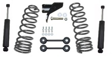 "2009-2018 Dodge RAM 1500 4"" Rear Lowering Kit - MaxTrac 202940"