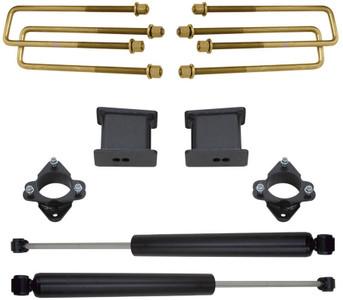 """2016-2020 GM 1500 2wd 3"""" Rear Lift Kit W/ MaxTrac Shocks - MaxTrac 901740"""