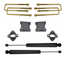 "2016-2019 GM 1500 2wd 2"" Front  4"" Rear Lift Kit W/ MaxTrac Shocks - MaxTrac 901750"